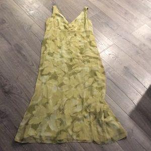 Green Eddie Bauer Maxi Dress